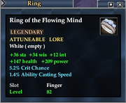 Ring of the Flowing Mind