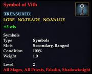Symbol of Vith