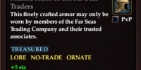 Marine Helm of the Far Seas Traders