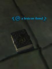 A lexicon fiend