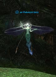 An Oakmyst fairy