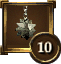 Icon Achievement morningstar 10