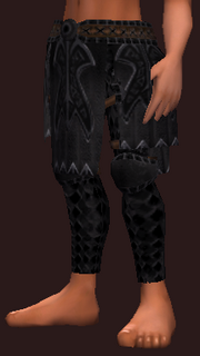 Darkblade's Chausses of the Citadel (Equipped)
