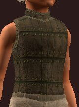 Imbued Woven Tanned Leather Tunic (Equipped)