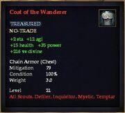 Coat of the Wanderer