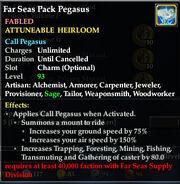 Far Seas Pack Pegasus