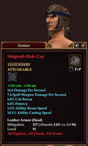 Holgresh Hide Cap
