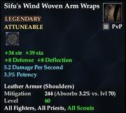 Sifu's Wind Woven Arm Wraps