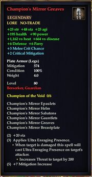 Champion's Mirror Greaves