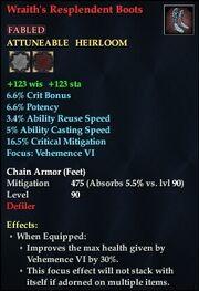 Wraith's Resplendent Boots
