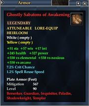 Ghostly Sabatons of Awakening
