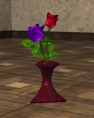 File:Purple and Red Roses in a Vase (Visible).jpg