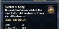 Satchel of Song