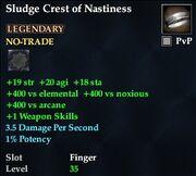 Sludge Crest of Nastiness