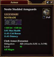 Nexite Studded Armguards