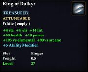 Ring of Dulkyr