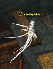 A damaged spirit