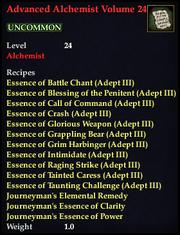 Advanced Alchemist Volume 24