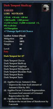 Dark Tempest Skullcap
