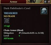 Dark Pathfinder's Cowl