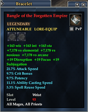Bangle of the Forgotten Empire