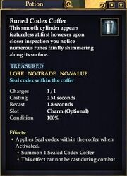 Runed Codex Coffer