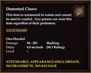 Demented Cleave
