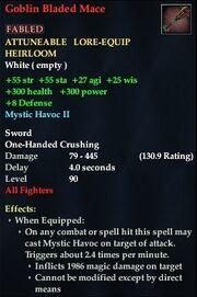 Goblin Bladed Mace