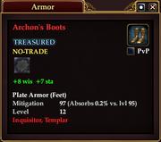 Archon's Boots