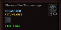 Gloves of the Thaumaturge