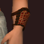 Prophet's Blackened Bone Chain Cuffs (Equipped)