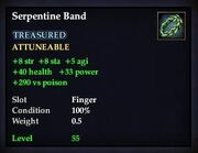 Serpentine Band