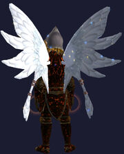 Valorous Wings Equipped