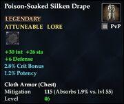 Poison-Soaked Silken Drape