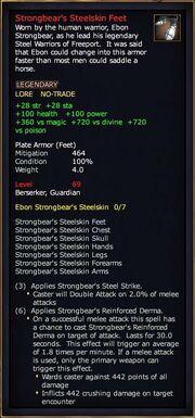 Strongbear's Steelskin Feet