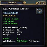Leaf Crusher Gloves