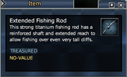 Extended Fishing Rod