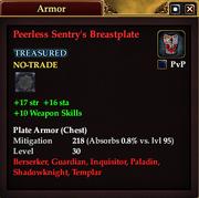 Peerless Sentry's Breastplate