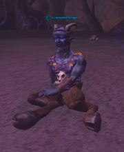 A corrupted forager