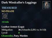 Dark Windcaller's Leggings