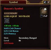 Deacon's Symbol