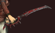 Fyst's Noxious Laden Blood Iron Sword (Equipped)