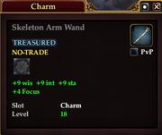 Skeleton Arm Wand