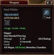 Soul Wailer (Equip)