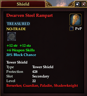 Dwarven Steel Rampart