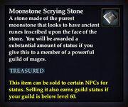 Moonstone Scrying Stone