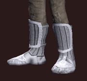 Cenobite's Foot Wraps of the Citadel (Equipped)