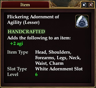 Eq Adornment Crafting Guide