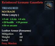 Reinforced Icemane Gauntlets