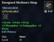 Energized Medium's Strap